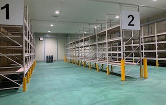 倉庫内:温度管理スペース